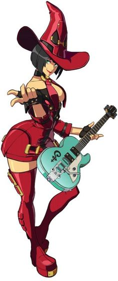 I-No (Guilty Gear XX)