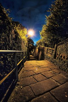 Night Alley in Nagasaki, Japan 長崎