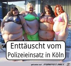 lustiges Bild 'Enttäuscht vom Polizeieinsatz in Köln.jpg' von Beatzekatze. Eine von 14329 Dateien in der Kategorie 'witzige Bilder' auf FUNPOT.