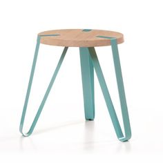 'Level' Tables By Dutch Designer Erik Remmers For Odesi. Furniture Projects, Kids Furniture, Furniture Design, Steel Furniture, Modern Furniture, Multipurpose Furniture, Round Side Table, Chair Design, Home Decor