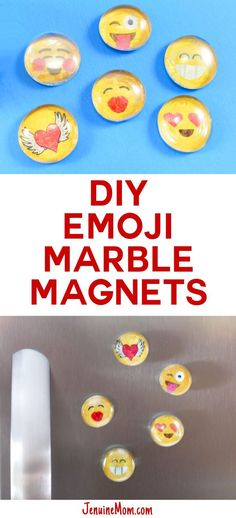 DIY Marble Magnets E