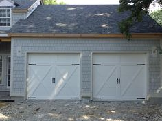 Carriage Garage Doors No Windows 5283 c.h.i. 15x7 white carriage house short stamped insulated door
