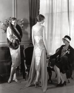Stunning-French Couture 1920's