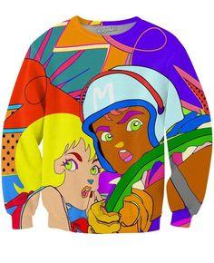 Speed Racer Crewneck Sweatshirt