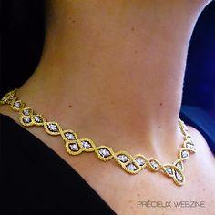 Necklace designed by Lucrezia Buccellati, Buccellati. Baselworld 2014. #baselworld2014 #buccellati