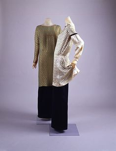 Afternoon dress  House of Lanvin (French, founded 1889)  Designer: Jeanne Lanvin (French, 1867–1946) Date: ca. 1927 Culture: French