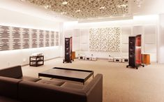 Vicoustic treated Hi-Fi Listening Room | Warner Home Group, #Nashville www.warnerhomegroup.com 615.778.1818