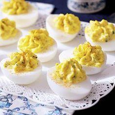 24 november - verse scharreleieren in de bonus - Recept - Gevulde eieren - Allerhande