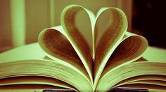 Książka, Serce, Miłość