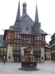 Wernigerode travel guide -The medieval town hall in Wernigerode.- Wikitravel