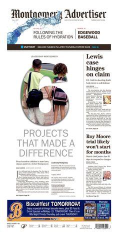 Montgomery Advertiser 5/10/16 via Newseum