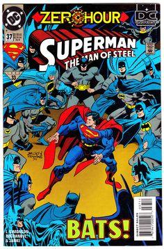 SUPERMAN: THE MAN OF STEEL #37 (Sept. 1994)Cover Art by Jon Bogdanove, Dennis Janke &MarjorieStrauss