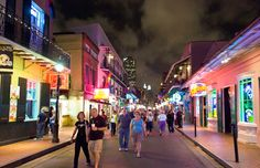 Bourbon Street is an obvious must-visit on any New Orleans itinerary, but we've got nine more things you simply have to see and experience while you're in NoLa. (Image credit: © Ian Dagnall/Alamy) #travel #roadtrip