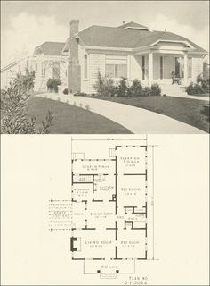 Tiny bungalow - 1922 Alamo - Lewis Manufacturing - Shingled cottage ...