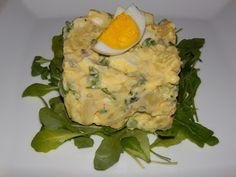 MAKE-FOOD: Zdravý bramborový salát s rukolou