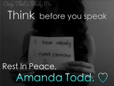 sad quotes about bullying - Google Search