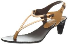 Amiana Womens 12-21002/81 Thong Sandal,Tan/Copper,10 M US.  check discount today! click picture on top