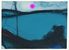 Outside The Lines - lilithsplace: 'Moonlight Marine' - Hughie. Irish Painters, Winter Sky, Collagraph, Royal Academy Of Arts, Landscape Paintings, Landscapes, Painting Patterns, Artist Painting, Art Music