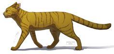Warriors Cats - Brackenfur by Cat-Patrisiya.deviantart.com on @DeviantArt