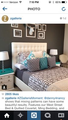 #ZGallerie Master bedroom