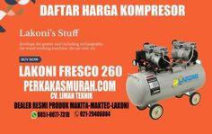 Harga-kompresor-lakoni-fresco-260-silent-tanpa-oli-oilless-dealer-distributor-Jakarta-gambar Air Compressor, Fresco, Fresh