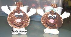 Cartuxos São Martinho Fall Crafts, Crafts For Kids, Arts And Crafts, Diy Crafts, Fall Decor, Holiday Decor, Halloween, Christmas Ornaments, Infants