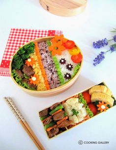 Cooking Gallery: 8 Ingredients Bento for Bento&Co 2014 Contest