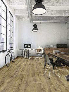 Mountain Oak 56440 - Wood Effect Luxury Vinyl Flooring - Moduleo