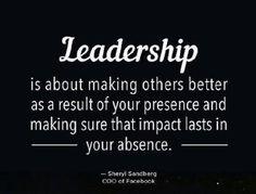 ¿De que se trata el liderazgo?