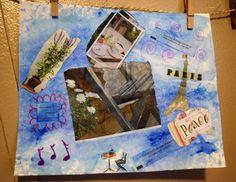 Ode to Paris collage by ArtbyAimeeMann on Etsy