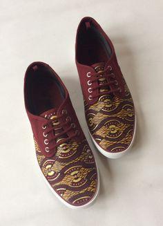 Men's Ankara Shoes