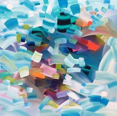 """""""Catch Your Dreams"""" ByStephanie Rivet #art #painting #abstractart #abstractpainting"""