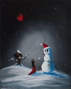 A Christmas Friend...by Shawna Erback Studios