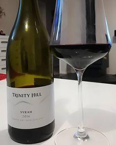 "2 Likes, 1 Comments - John Bartlett (JB Wine Guy) (@nzwinedirectory) on Instagram: ""Trinity Hill            Syrah   Hawke's Bay     2016 -  Pretty dark purple in colour, lighter…"""