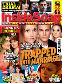 Members of Darlington Libraries can now read Inside Soap magazine for FREE on a computer, tablet or mobile - click the image to get started.