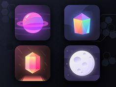 Did some app icons recently for different apps which didn't make the cut.