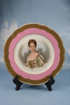 Sevres Plate Duchesse de Bourgogne Circa 1846