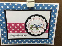 Polka dot Day five | Endless Creations Rubber Stamps