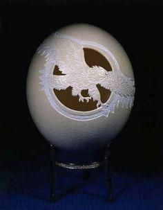 Eggshell Carving Art