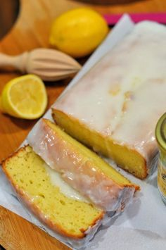 "Lemon Yogurt ""Pound"" Cake is great for a couple of reasons. A. No butter! Instead of butter you can use yogurt, making for a light, airy and moist cake. B. You can flavor this cake with any fruit you'd like, guava, coconut, lemon, orange or any other flavor you fancy."