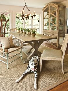 Beige sisal rug. Puppy not included. But I think this is a thought for the center rug under the sofa and armchairs. Ideally would fill the whole conversation space.