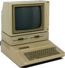 An Apple IIe, the first computer I owned.  No internet and I bought a daisy wheel printer, too.
