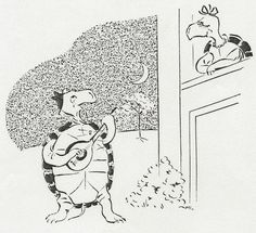 Testudo serenades Testudinette, 1945 by Digital Collections at the University of Maryland, via Flickr