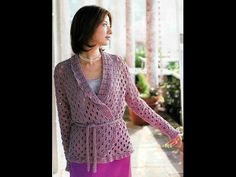 crochet cardigan  free  crochet patterns 448
