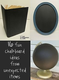 Click on a picture above to see more great repurposed ideas