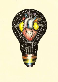 Rainbow Heart, Pop Surrealism, Paper Size, Colored Pencils, Inspire, Artists, Ink, Facebook, My Favorite Things