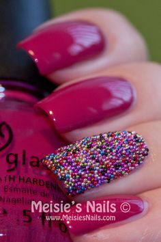 """'Caviar statement nail' --> Really? A statement nail? When I was younger, people who had one """"statement nail"""" usually used a lot of cocaine as well. just sayin' Beauty Make Up, Hair Beauty, Beauty Stuff, Nail Polish Art, Nail Art, Beauty Hacks, Beauty Ideas, Beauty Tips, Statement Nail"""