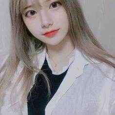 Pretty Korean Girls, Cute Korean Girl, Cute Asian Girls, Beautiful Asian Girls, Cute Girls, Korean Beauty, Asian Beauty, Cute Young Girl, Ulzzang Korean Girl