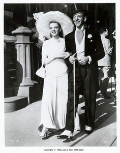 Judy Garland and Fred Astaire in the motion picture Easter Parade. ba714ee0dd