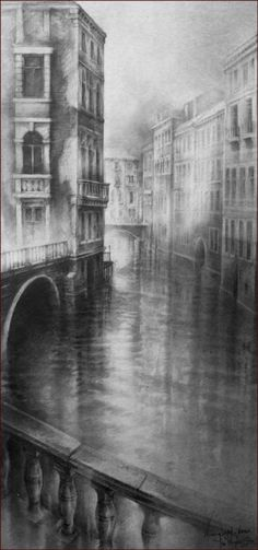 Venetian Morning Light » Ian Murphy Drawings